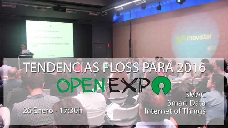 OpenExpo On Tour comienza el 26 de enero en Madrid
