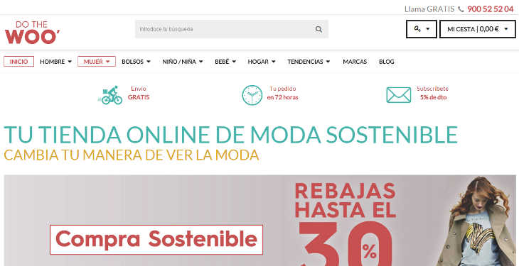 Do The Woo tienda online multimarca de moda sostenible