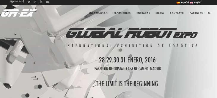 Global Robot Expo, plataforma de negocio para la industria robótica
