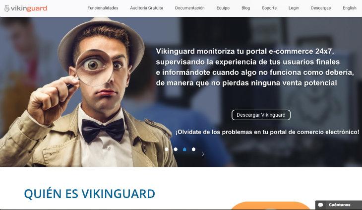 Vikinguard comprueba la disponibilidad de una tienda online