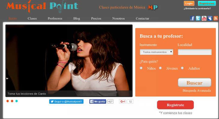 Musicalpoint, clases particulares de música