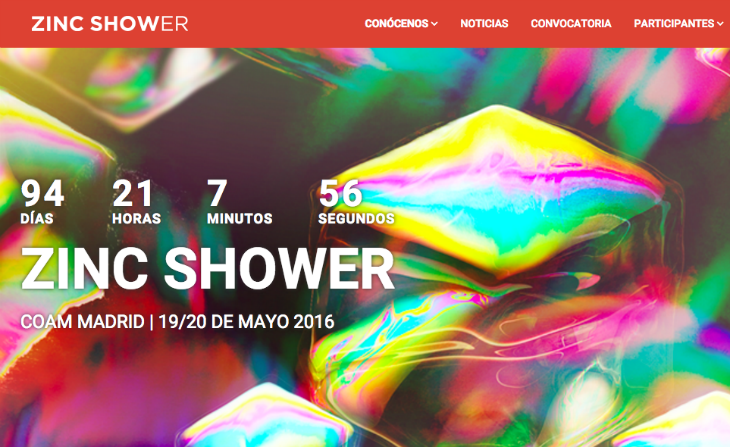 Zinc Shower abre su convocatoria de proyectos