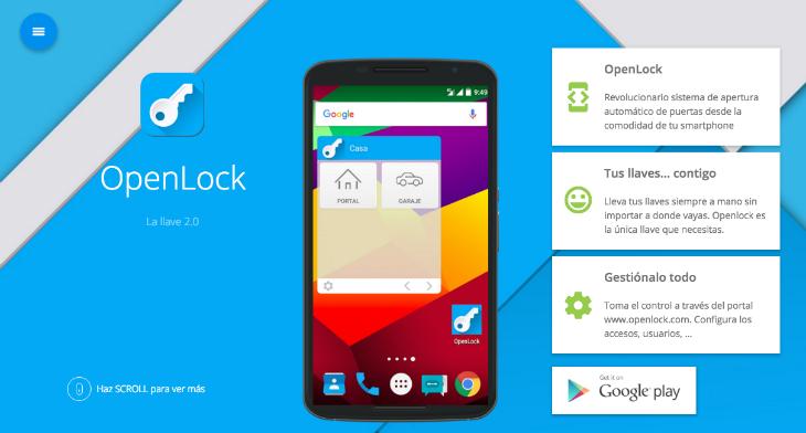 Con OpenLock podrás abrir todas las puertas gracias con un app