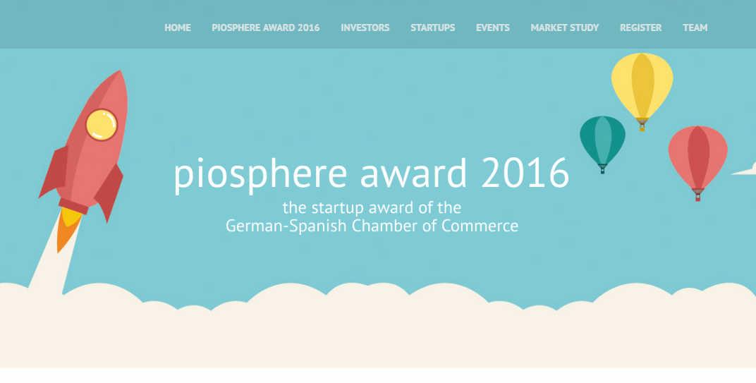 Premio piosphere para startups que quieren ir a Alemania