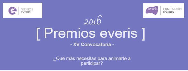 ¿Qué más necesitas para animarte a participar en Premios everis 2016?