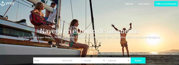 Más competencia en el sector de alquiler de barcos con Yanpy