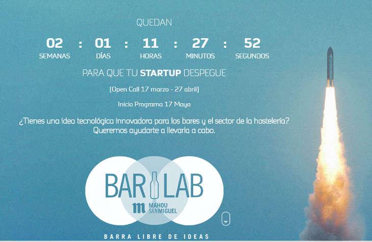 BarLab de Mahou San Miguel busca startups innovadoras