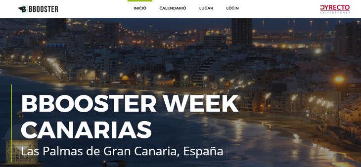 Bbooster Week Las Palmas entregará 100 mil euros al ganador