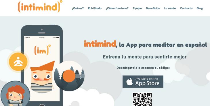 Intimind, la app que ayuda a lograr la paz mental