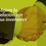 Evento sobre cómo mejorar la relación entre inversores y sus participadas