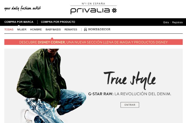 Vente Privée compra Privalia