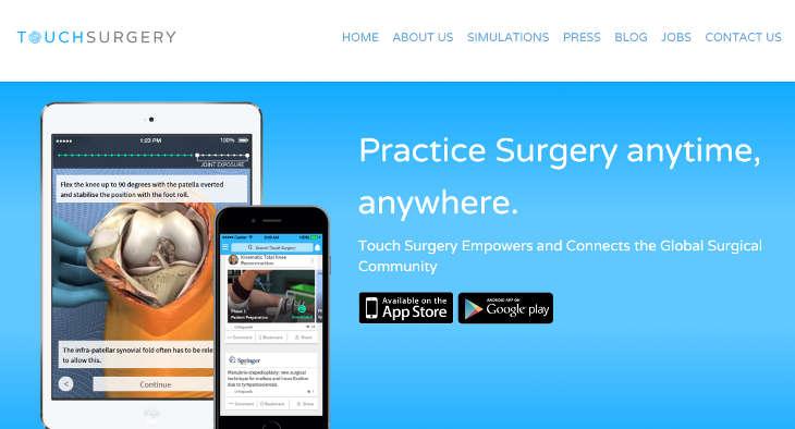 La app médica para profesionales Touch Surgery sella un acuerdo con el Hospital Clínico San Carlos