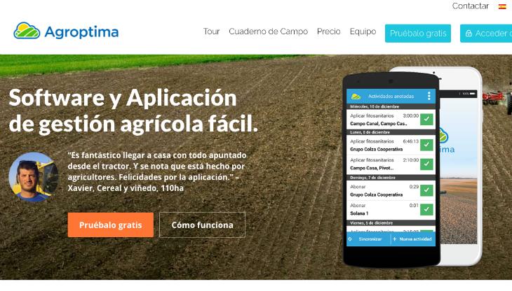 700.000 euros de inversión en la startup Agroptima