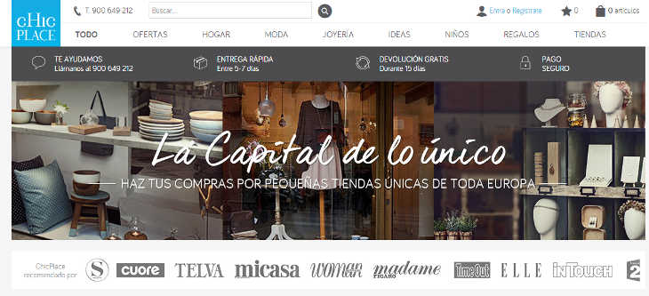 eShop Ventures adquiere el marketplace ChicPlace