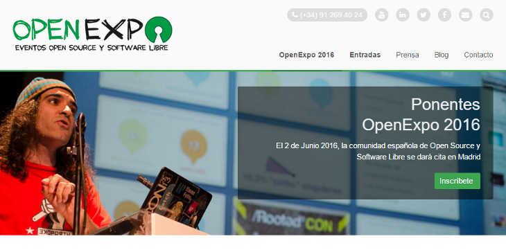 Loogic te invita a OpenExpo 2016