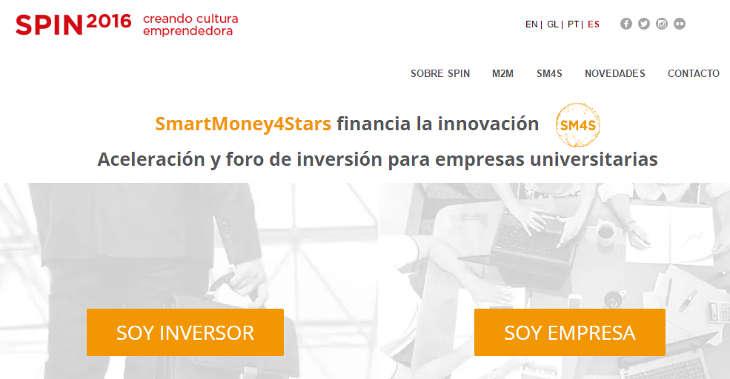 Spin2016 y SmartMoney4Stars buscan spin-offs y startups universitarias