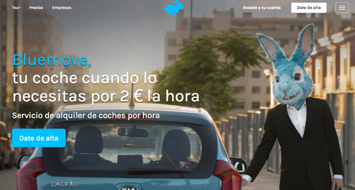 Europcar compra la startup española de carsharing Bluemove