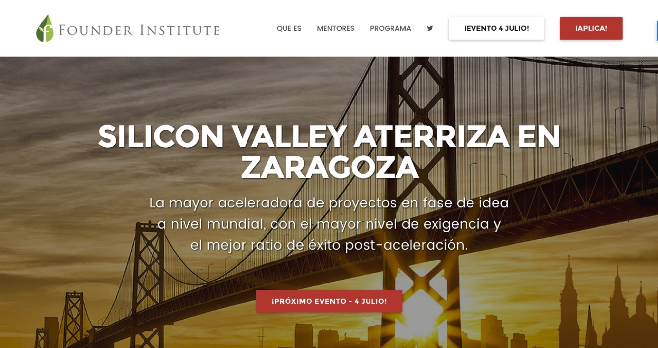 Founder Institute, de Silicon Valley a Zaragoza