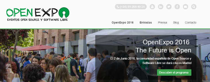 Mañana nos vemos en OpenExpo