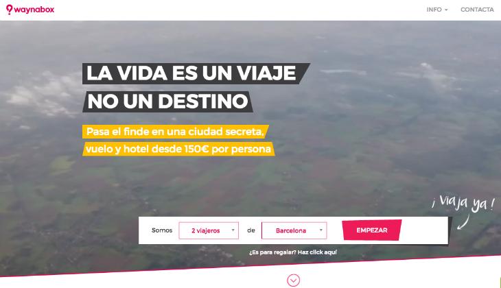 1,2 millones de euros de inversión en Waynabox