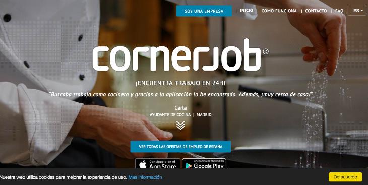 23 millones de euros de inversión en Cornerjob