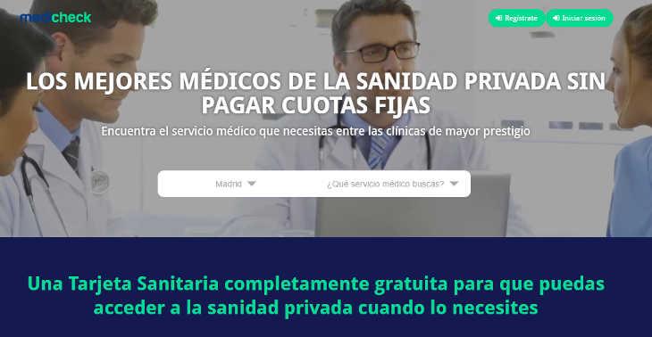 Medicheck, servicio para la búsqueda de médicos privados