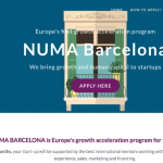 Mobile World Capital Barcelona pone en marcha NUMA Growth