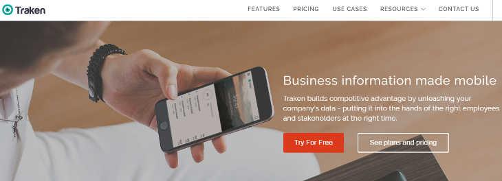 Traken, apps móviles corporativas