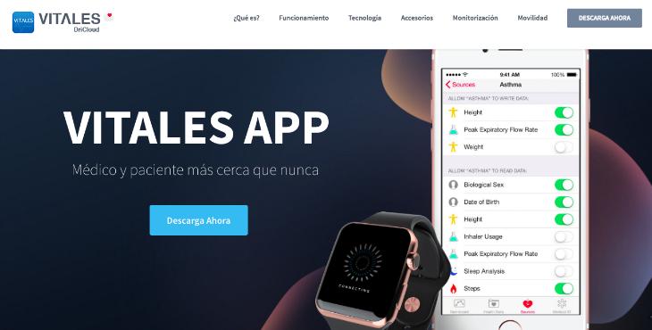 Vitales, la app de salud creada con Apple HealthKit