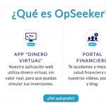 Conoce la startup de fintech OpSeeker