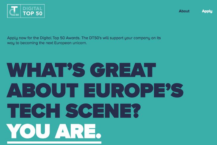 Digital Top 50: el premio de Google, Rocket Internet y McKinsey para las startups