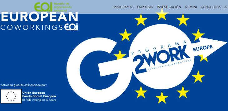 Programa de Aceleración Internacional European Coworkings EOI
