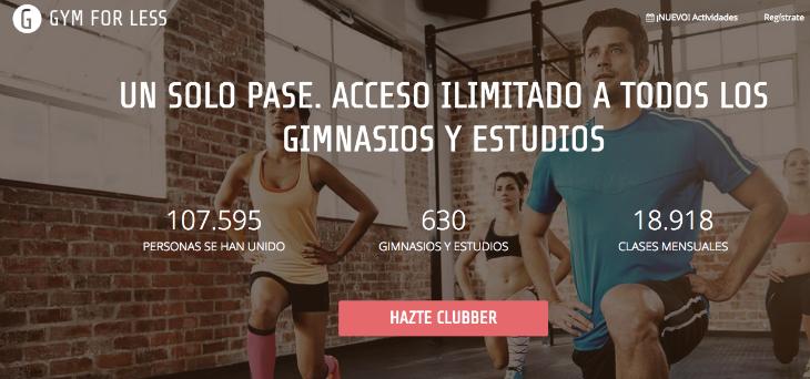 160.000 euros de inversión en Gymforless
