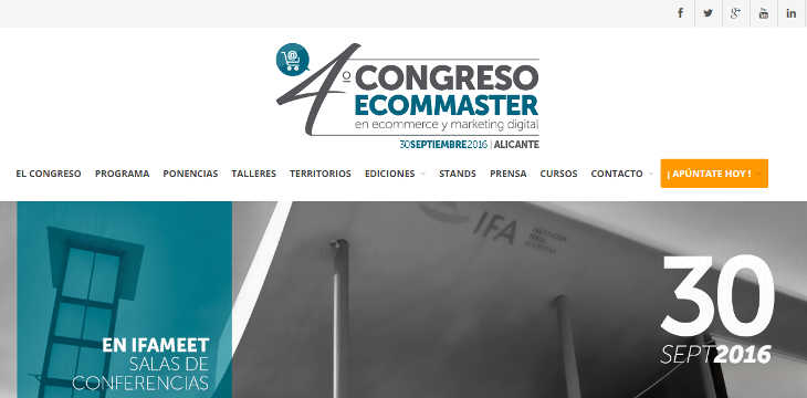 IV Congreso Ecommaster de ecommerce y marketing digital