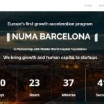 NUMA Barcelona destina 4,8MM € para la aceleración de startups