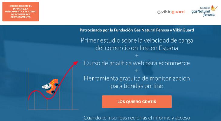 Interesante estudio sobre la velocidad de las tiendas online en España
