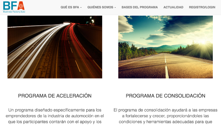 Conoce la iniciativa Business Factory Auto