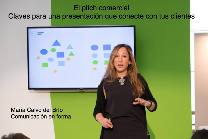 María Calvo nos enseña a realizar el pitch comercial de nuestra empresa