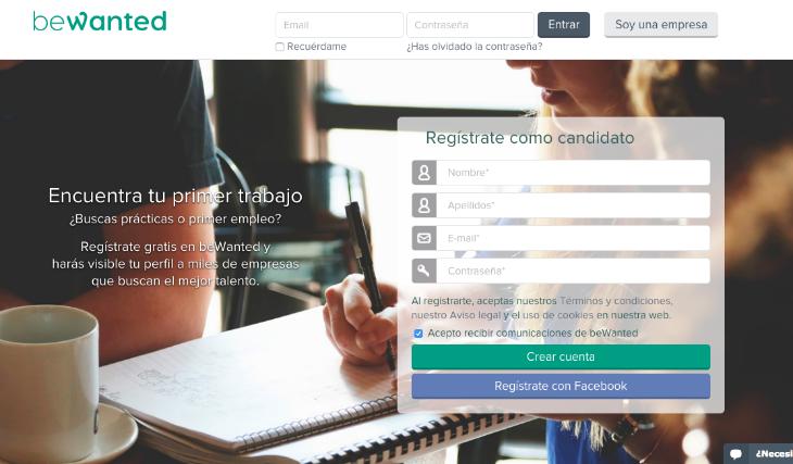 600.000 euros de inversión en la startup beWanted