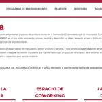 HUB Emprende incuba proyectos de emprendedores