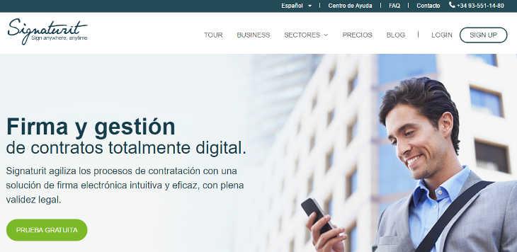 Inversión en Signaturit, servicio de firma digital, Tallerator y Skitude