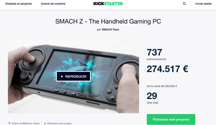 SMACH Z es un producto español que triunfa en Kickstarter