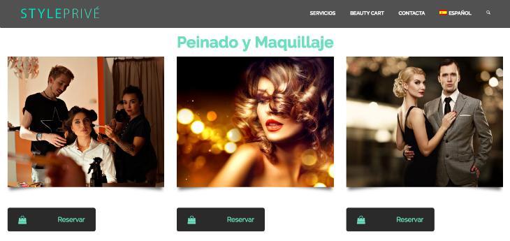 Plataforma española de belleza a domicilio: Style Privé