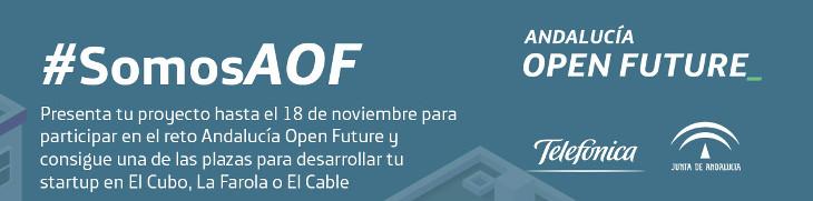 Abierta nueva convocatoria de Andalucía Open Future