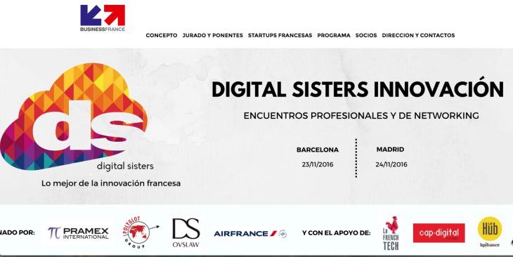 25 startups francesas se presentan en Digital Sisters Innovation