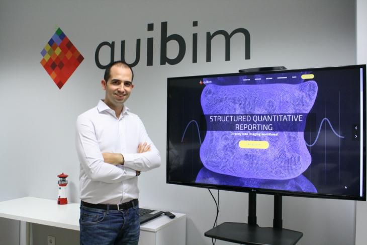 550.000 euros de inversión en la startup Quibim