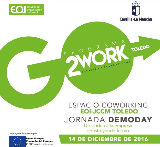 Presentación de proyectos del programa Go2Work de EOI en Toledo