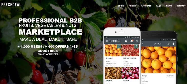 Freshdeal Marketplace, algo se mueve en el sector agrícola
