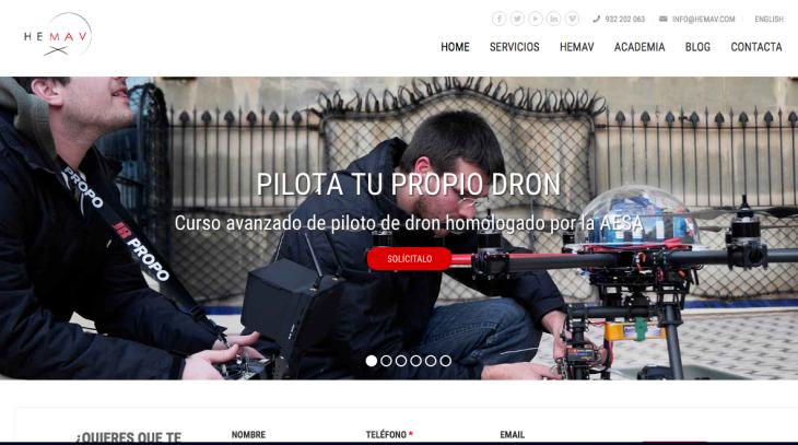 3 millones de euros de inversión en la startup de drones Hemav
