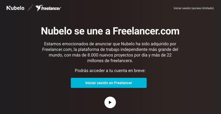 Freelancer.com compra la startup española Nubelo
